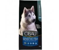 Cibau Sensitive Fish Medium & Maxi - для взрослых собак