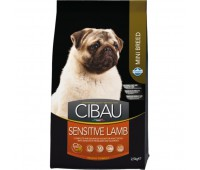 Cibau Sensitive Lamb Mini  - для взрослых собак с чувствительным пищеварением и аллергией.