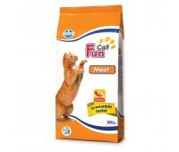 Fun Cat Meat - Полнорационный и сбалансированный корм  для взрослых кошек