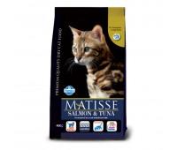 Matisse Salmon & Tuna - Полнорационный и сбалансированный корм для взрослых кошек.