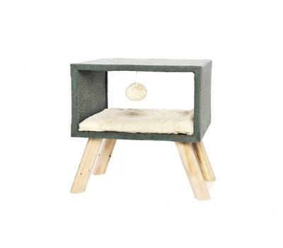 """Лежак для кошек """"Телезвезда"""", 43,5х30х43,5 см, TIRAGRAFFI CUBIC"""