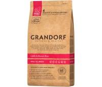 GRANDORF ADULT ALL BREEDS LAMB  RICE для взрослых собак всех пород с ягненком, 3кг.
