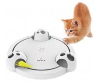 Интерактивная вращающаяся игрушка  PetSafe Frolicat Pounce белый