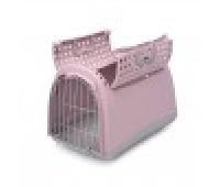 Переноска для животных LINUS CABRIO,  цвет пепельно-розовый, 50х32х34,5см