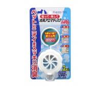 Устранитель запаха-диск с ароматом детского мыла для собак и кошек. 2 шт
