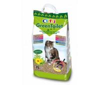 Комкующийся растительный наполнитель, 7л, GREENTOILET - 2,1 кг