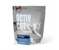 Комкующийся наполнитель ActivCat, аромат альпийской свежести , Scoopable Litter - 4 кг