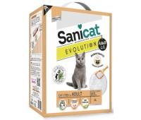 Комкующийся наполнитель без аромата для взрослых кошек с экстрактом юкки, контроль запаха без пыли, Evolution Adult - 5,2 кг