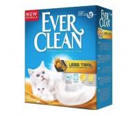 Комкующийся наполнитель для длинношерстных кошек, Less Track - 10 кг