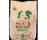 Корм Magnusson Эдалт Adult (MeatBiscuit) для взрослых собак с нормальным уровнем активности 4,5кг.