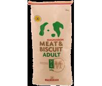 Корм Magnusson Эдалт Adult (MeatBiscuit) для взрослых собак с нормальным уровнем активности 14кг.