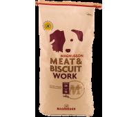 Корм Magnusson Work (MeatBiscuit) для собак с высоким потреблением энергии – 50% свежего мяса 14кг