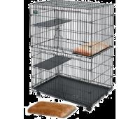 Midwest клетка для кошек Cat Playpens  91,5х60х128h см