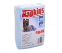 Впитывающие пеленки для собак 60x90, 10 шт.