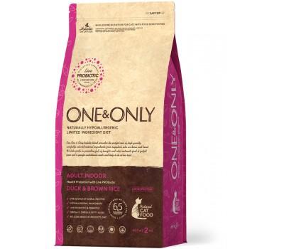 One & Only Duck & Rice Adult INDOOR - Утка с рисом для домашних кошек