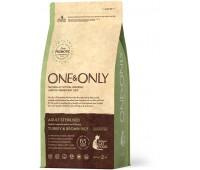 One & Only Turkey & Rice Adult STERILISED - Индейка с рисом для стерилизованных кошек