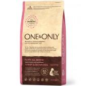 One & Only - Turkey & Rice PUPPY All Breeds - Индейка с рисом для щенков всех породTurkey & Rice PUPPY All Breeds - Индейка с рисом для щенков всех пород