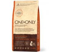 One & Only - Turkey & Rice JUNIOR All Breeds - Индейка с рисом для юниоров всех пород