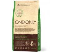 One & Only - Turkey & Rice Adult MINI Breeds - Индейка с рисом для взрослых собак мелких пород