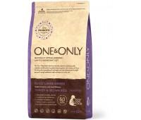 One & Only - Turkey & Rice Adult LARGE Breeds - Индейка  с рисом для взрослых собак крупных пород