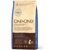 One & Only White fish & Rice Adult All Breeds - Белая рыба с рисом для взрослых собак всех пород