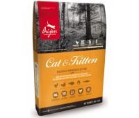 Корм Orijen для кошек и котят с курицей, Cat and Kitten 1, 8 кг