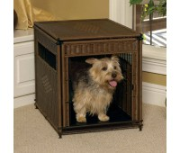 Клетка декоративная Medium Pet Residence, Dark Brown