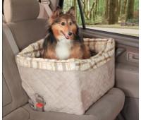 Авто сиденье для собак на сиденье автомобиля Delux