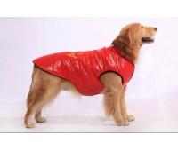 Жилеты для собак  (синтепон) Красный, синий, коричневый