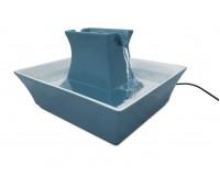 Фонтанчик-поилка Pagoda для кошек и собак керамическая, голубая - Drinkwell® - Ceramic Pagoda Pet Fountain - Blue