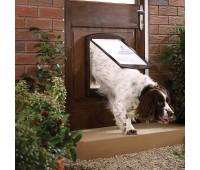 Дверца Original 2 Way большая, коричневая