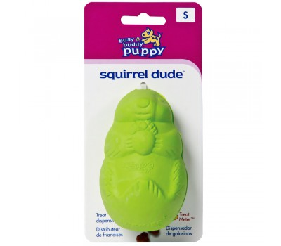 Игрушка Busy Buddy Puppy Squirrel Dude