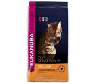 Eukanuba Для взрослых кошек с курицей (Adult Top Condition) 0.4 кг