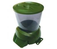 Feed-Ex Автоматическая программируемая кормушка для прудовых рыб (зеленая)