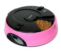 Автоматическая кормушка на 6 кормлений для кошек и собак с ЖК дисплеем для любого вида корма