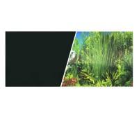 Фон черный/растительный 45см 7,5 м