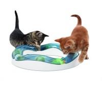 Игровой круг Catit Design Senses - волнистая дорожка со светящимися шариками