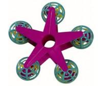 Игрушка для птиц - звезда с шариками и колокольчиками