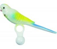Игрушка для птиц - попугай небольшого размера