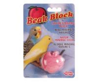 Минеральный камень для птиц, яблоко
