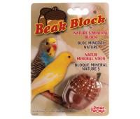 Минеральный камень для птиц, желудь