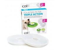 Фильтр для питьевого фонтанчика-цветка Catit Senses 2.0 (2 шт)