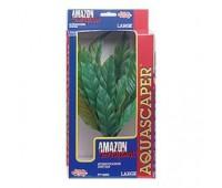 Растение пластиковое зеленое Амазонка супер, 35 см