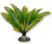 Растение пластиковое зеленое Амазонка джумбо, 36 см