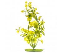 Растение пластиковое зеленое Кардамин 20см