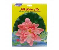 Растение пластиковое Лагуна розовая 25 см