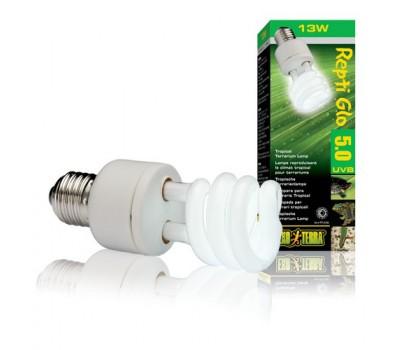 Лампа для тропического террариума Repti Glo 5.0 Compact, Т10/13 Вт