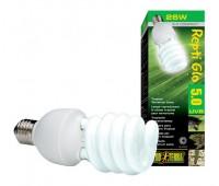 Лампа для тропического террариума Repti Glo 5.0 Compact, Т10/25 Вт