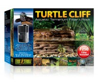 Черепашья скала Turtle-Cliff с фильтром для воды маленькая