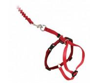 Шлейка прогулочная для кошек Easy Walk™ , красный цвет